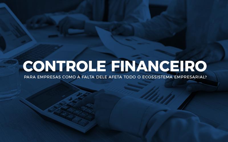 Controle Financeiro Para Empresas - Porto Lemes - Controle financeiro para empresas – como a falta dele afeta todo o ecossistema empresarial?