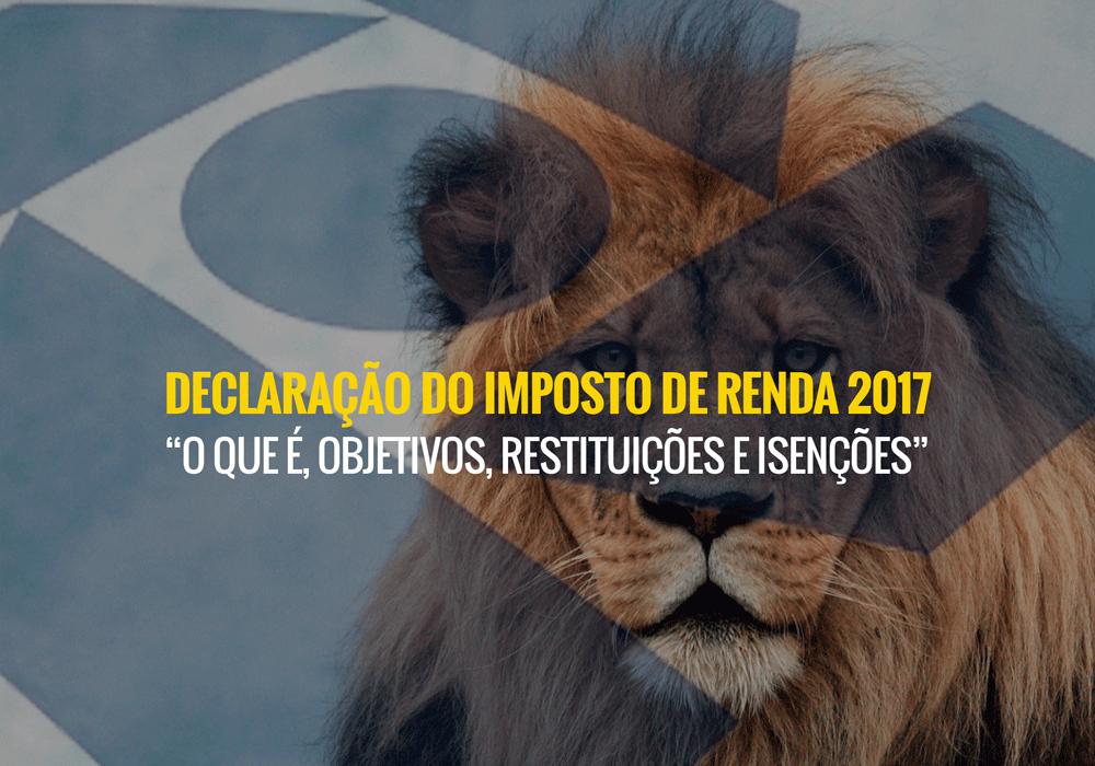 Nao Exclusivo - Porto Lemes - Declaração do Imposto de Renda 2017