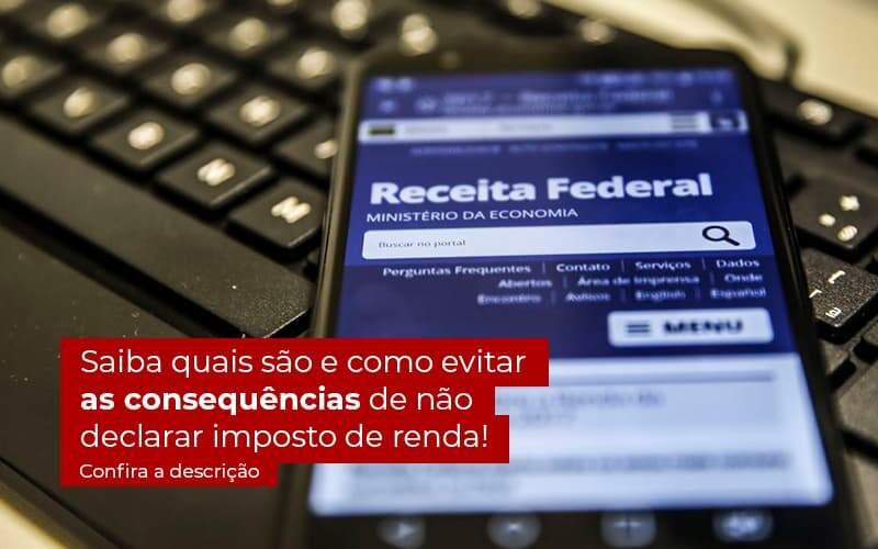 Nao Declarar O Imposto De Renda O Que Acontece - Contabilidade na Zona Leste em São Paulo - SP | Porto Lemes - Não declarar o Imposto de Renda – o que acontece?